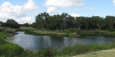 Cypress Mill community pond